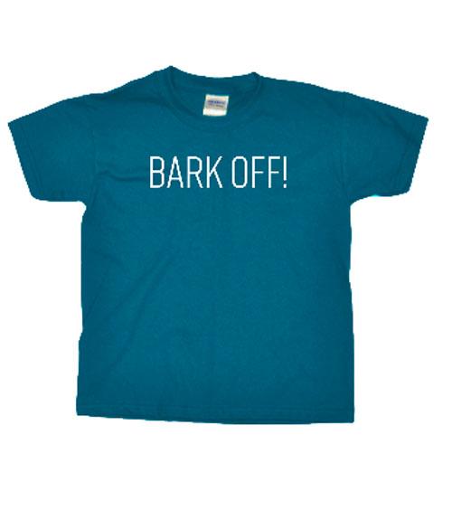 Pixel & Polly Bark Off Sapphire T-shirt
