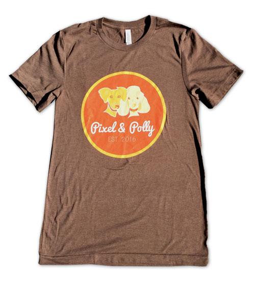 Pixel&Polly Logo Tshirt